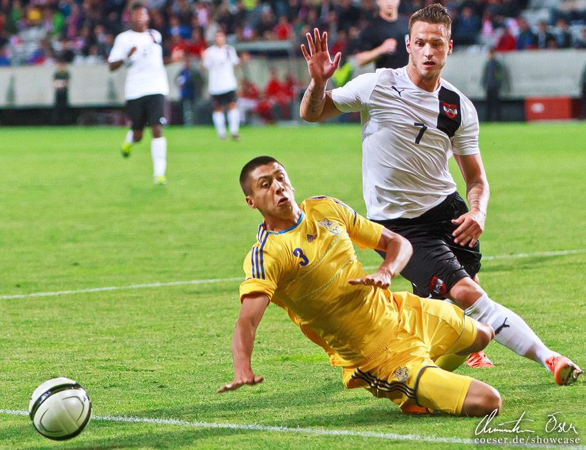 UEFA Friendly match  Austria - Ukraine 3 2  2012Austrian Sports