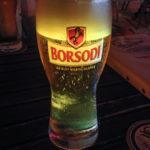 Lokales Bier Borsodi