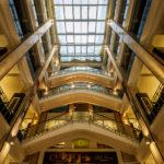 Innenansicht des Jugenstilgebäudes (altes Pariser Kaufhaus)