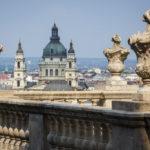 Blick auf die St.-Stephans-Basilika