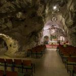 Innenansicht der Felsenkapelle