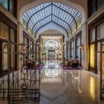 Innennansicht des Gresham-Palasts (Four Seasons Hotel)