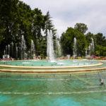 Größter Springbrunnen Budapests auf der Margareteninsel