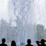 Größter Springbrunnen Budapests mit Wassershow auf der Margareteninsel