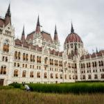 Außenansicht des Parlaments in Budapest