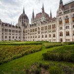 Außenansicht des Parlaments