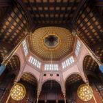 Innenansicht der Rumbach Synagoge