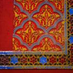 Detailansicht der Rumbach Synagoge