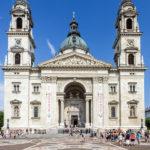 Außenansicht der St.-Stephans-Basilika