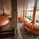 Das Sudhaus in der Brauerei Budweis