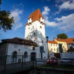 Blick auf den Rabensteiner Turm