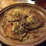 Die Süßspeise Liwanzen in der Gaststätte Stará sladovna