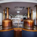 Sudküche für Testzwecke in der Brauerei Pilsner Urquell