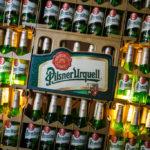 Bierkisten von Pilsner Urquell