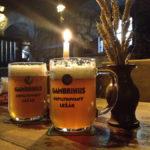 Zwei Gläser Gambrinus in der Gaststätte Stará sladovna