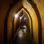Gänge in den Pilsner historischen Kellern