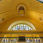 Die historische Bahnhofshalle