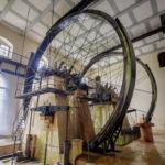 Die oberschlächtigen Wasserräder drehen sich seit mehr als 170 Jahren
