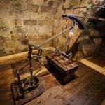 Die Pumpe der Karl-Theodor-Quelle hebt solehaltiges Wasser aus sechs Metern Tiefe
