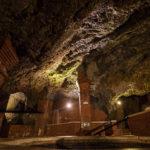 Die Salzgrotte ist eine natürliche Höhle und wurde 1795 entdeckt