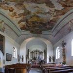 Innenansicht der Kalvarienbergkirche
