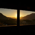 Blick vom Siriuskogl Richtung Sonnenuntergang