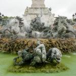 Monumentalbrunnen auf dem Place des Quinconces