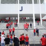 Zugang zum Stadion Matmut-Atlantique
