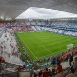 Innenansicht des Stadions Matmut-Atlantique