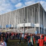 Außenansicht des Stadions Matmut-Atlantique