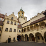 Das Alte Rathaus vom Innenhof aus gesehen