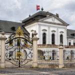 Das Palais Grassalkovich, in dem seit 1996 der Präsidentenpalast untergebracht ist