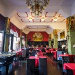 Blick in das Roland Café & Restaurant