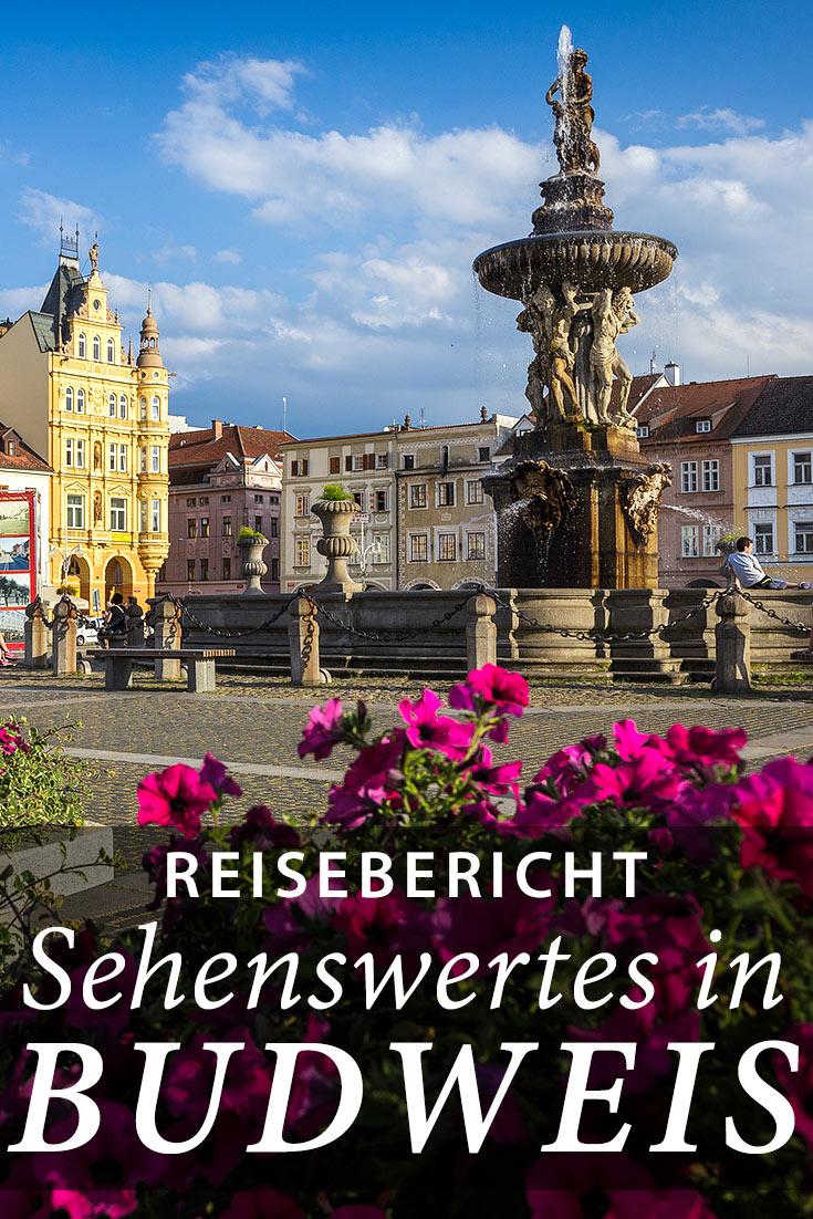 Reisebericht über Budweis in Tschechien mit Erfahrungen zu Sehenswürdigkeiten, den besten Fotospots sowie allgemeinen Tipps.