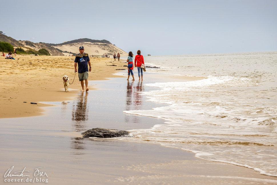 Ein Spaziergang am Strand ist weit weniger anstrengend