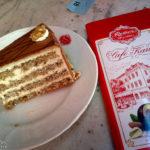 Esterhazyschnitte im Café Reber