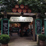 Eingang zum Gastgarten des Schwabenbräu in Bad Reichenhall