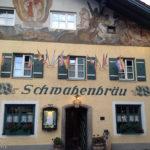 Außenansicht des Schwabenbräu in Bad Reichenhall