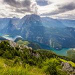 Traumhafte Ausblicke auf den Königssee vom Gipfel des Jenners