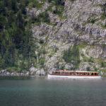 Ein Nachbarboot vor der Echowand