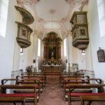 Innenansicht der Wallfahrtskapelle St. Bartholomä
