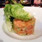 Lachstatar im Restaurant Etrillum (22 rue Armand Brossard)