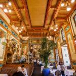 Innenansicht der Brasserie La Cigale