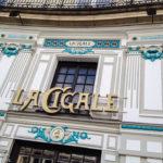Außenansicht der Brasserie La Cigale