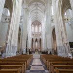 Innenansicht der Kathedrale von Nantes