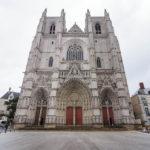 Außenansicht der Kathedrale von Nantes