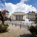 Das Openhaus von Nantes auf dem Place Graslin
