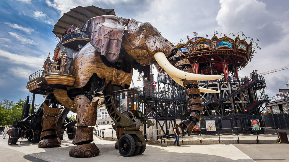 Der Grand Elephant in Nantes