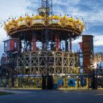 Das Karussell, Teil des Kunstprojekts Les Machines de l'Île