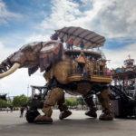 Der Grand Eléphant, Teil des Kunstprojekts Les Machines de l'Île